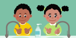 Hand-washing heroes - video